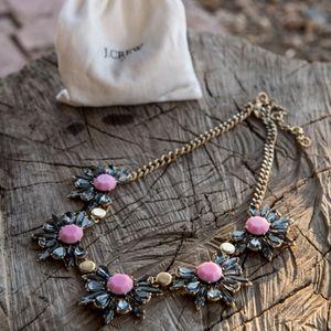 J. Crew Statement Floral Necklace